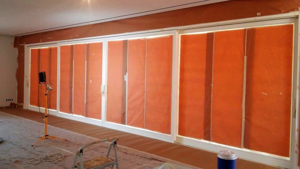 צביעת חלונות עץ