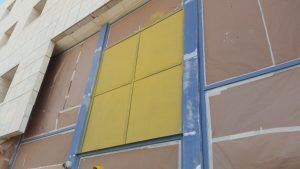 צביעת החלונות אלומיניום בפריימר