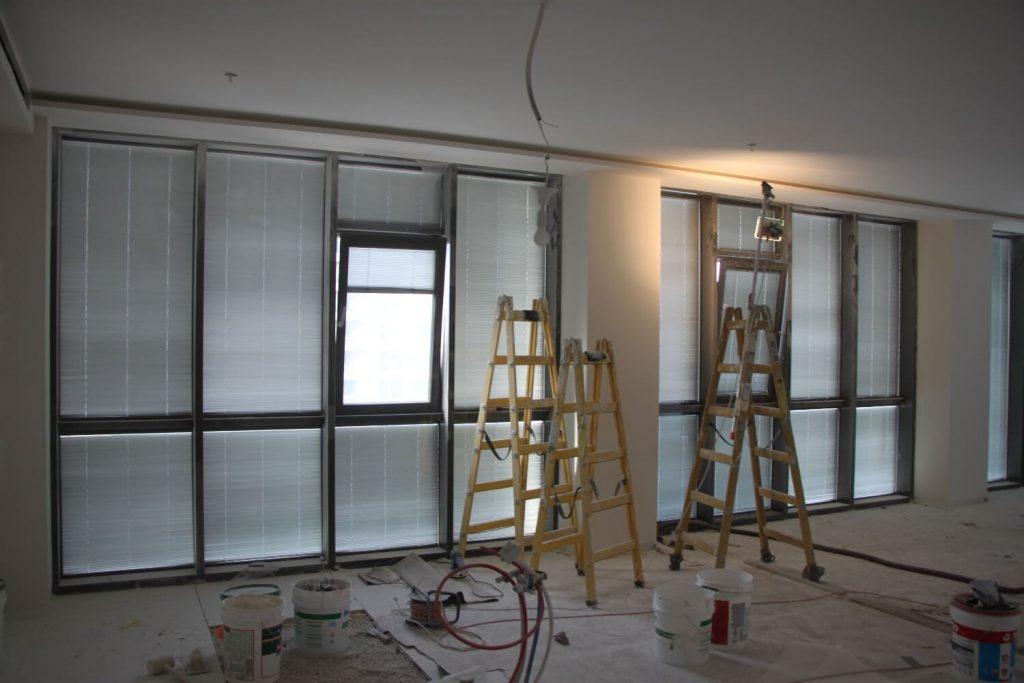 החלונות לפני תחילת העבודה