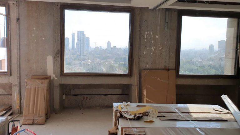 החלונות לפני תהליך העבודה